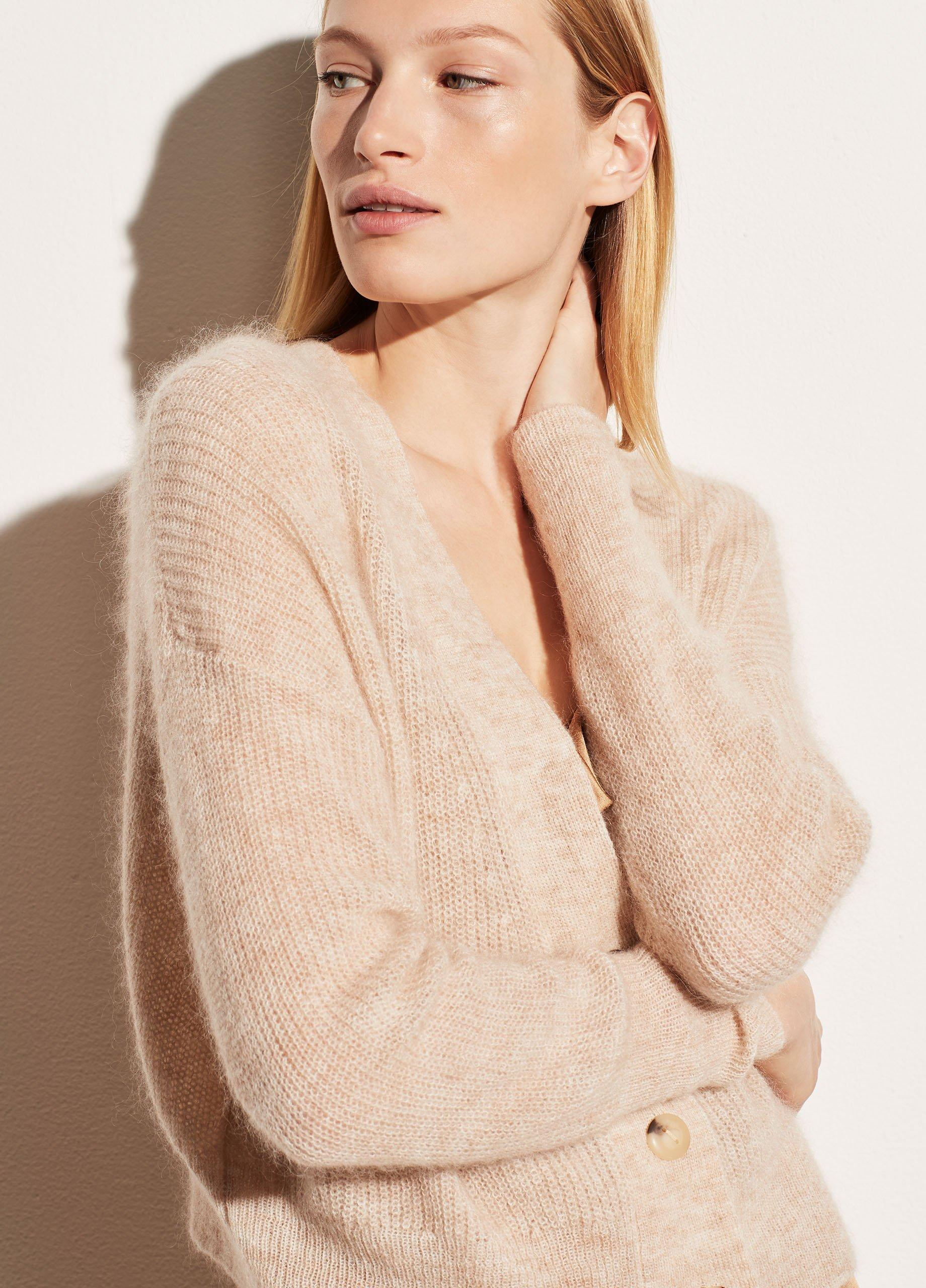 Featherweight Ribbed Cardigan