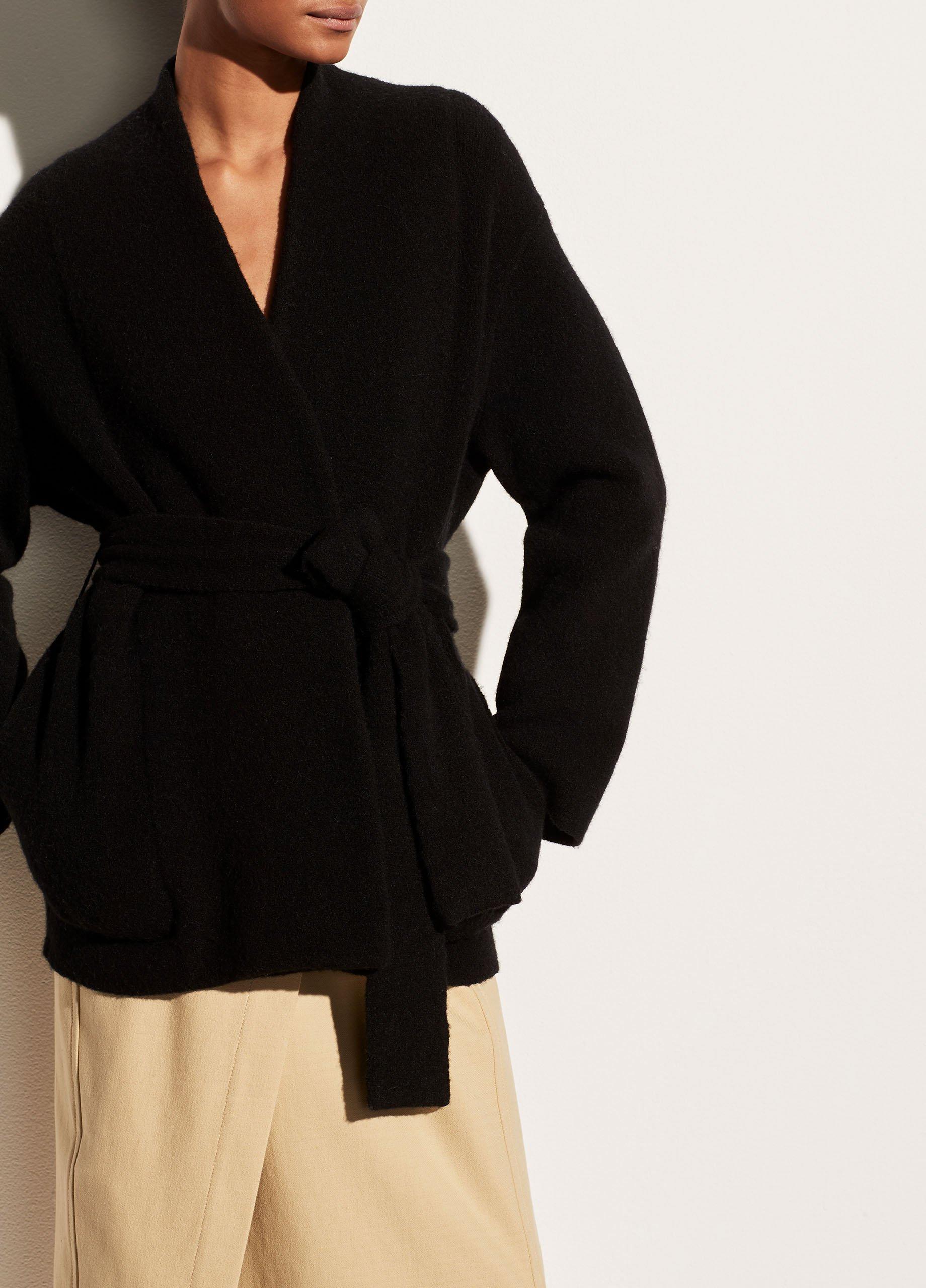 Belted Cardigan Coat