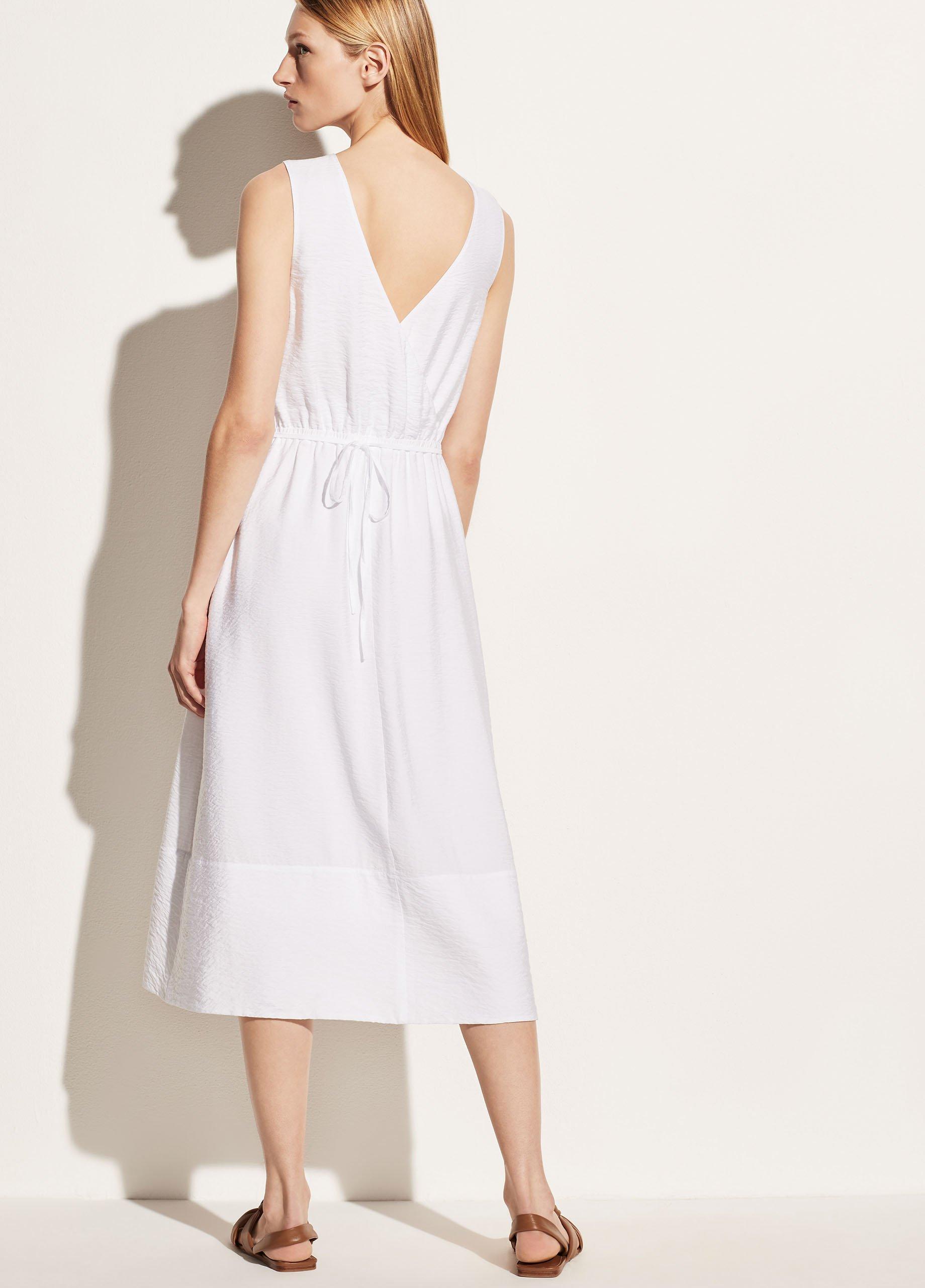 Sleeveless Cross Back Dress
