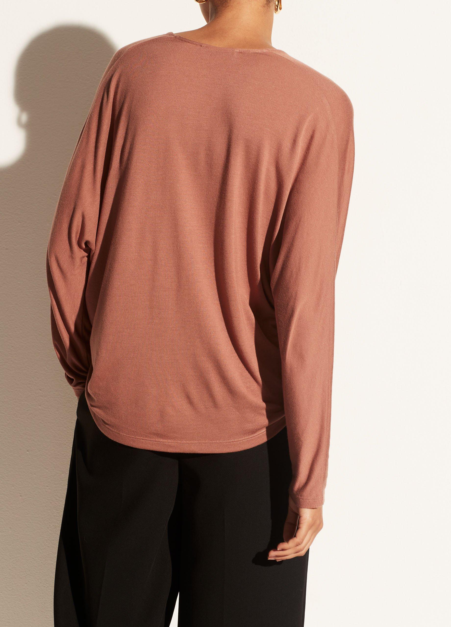 Long Sleeve Dolman V-Neck