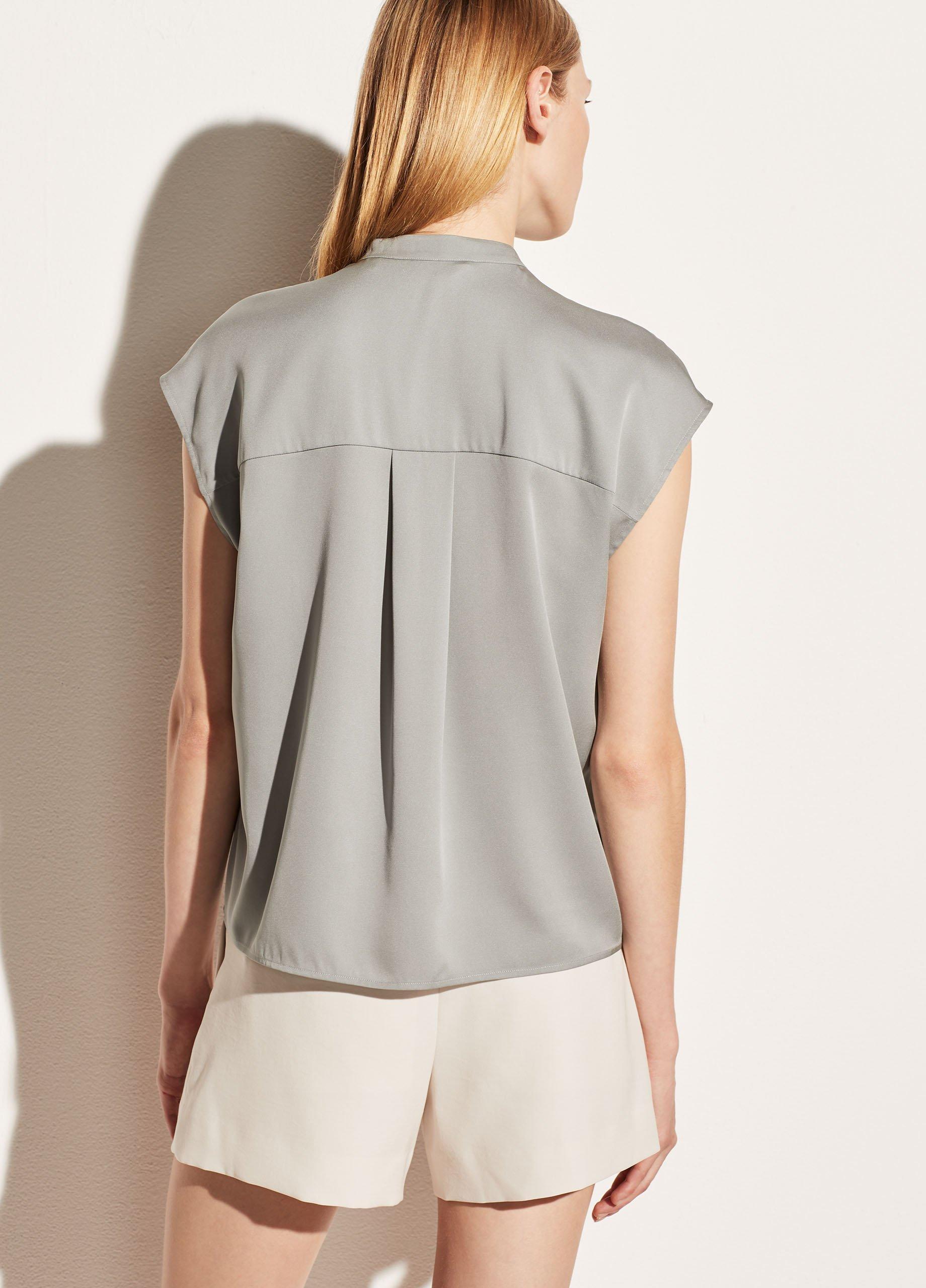 Silk Sleeveless Shell