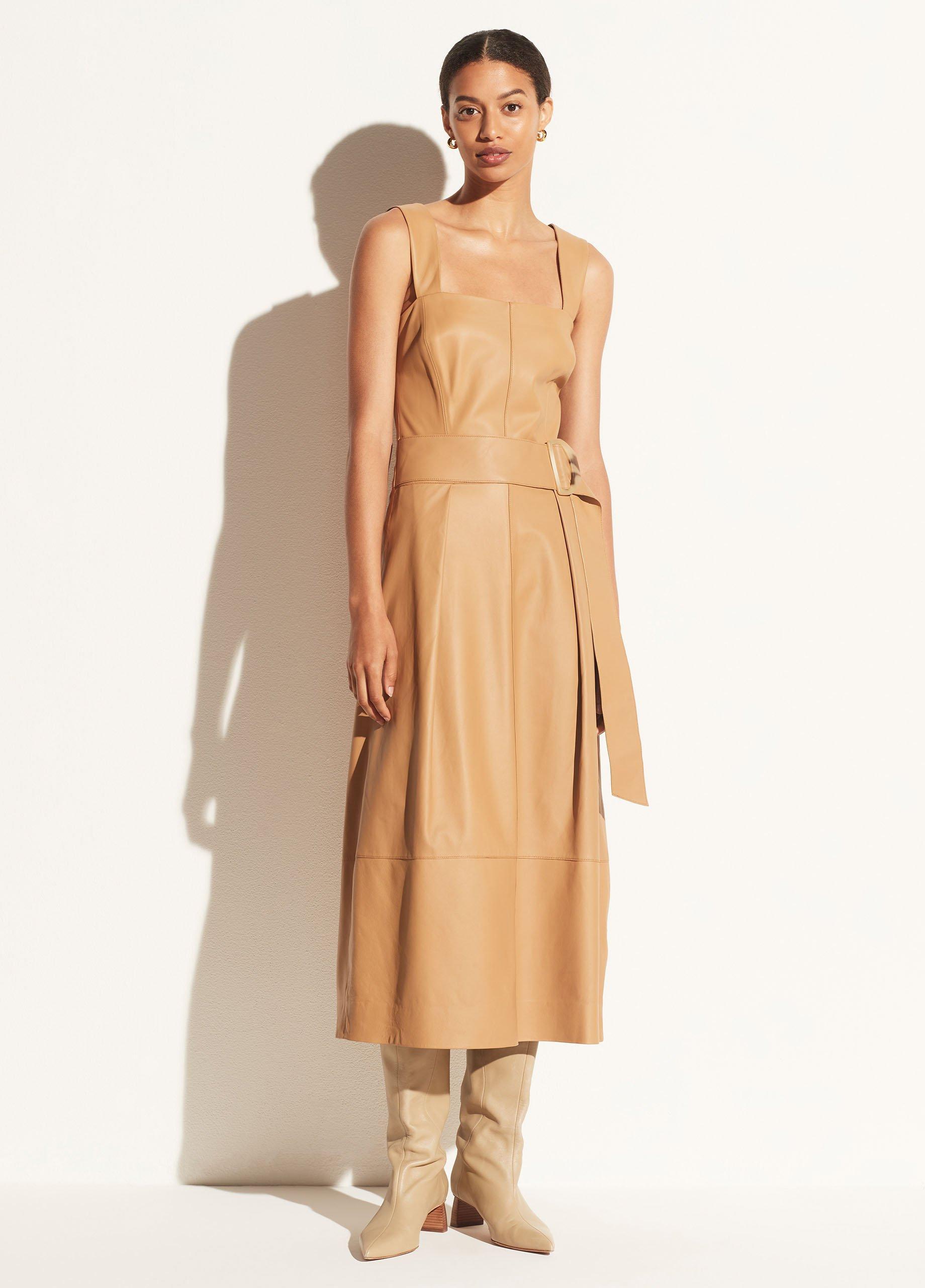 Leather Camisole Dress