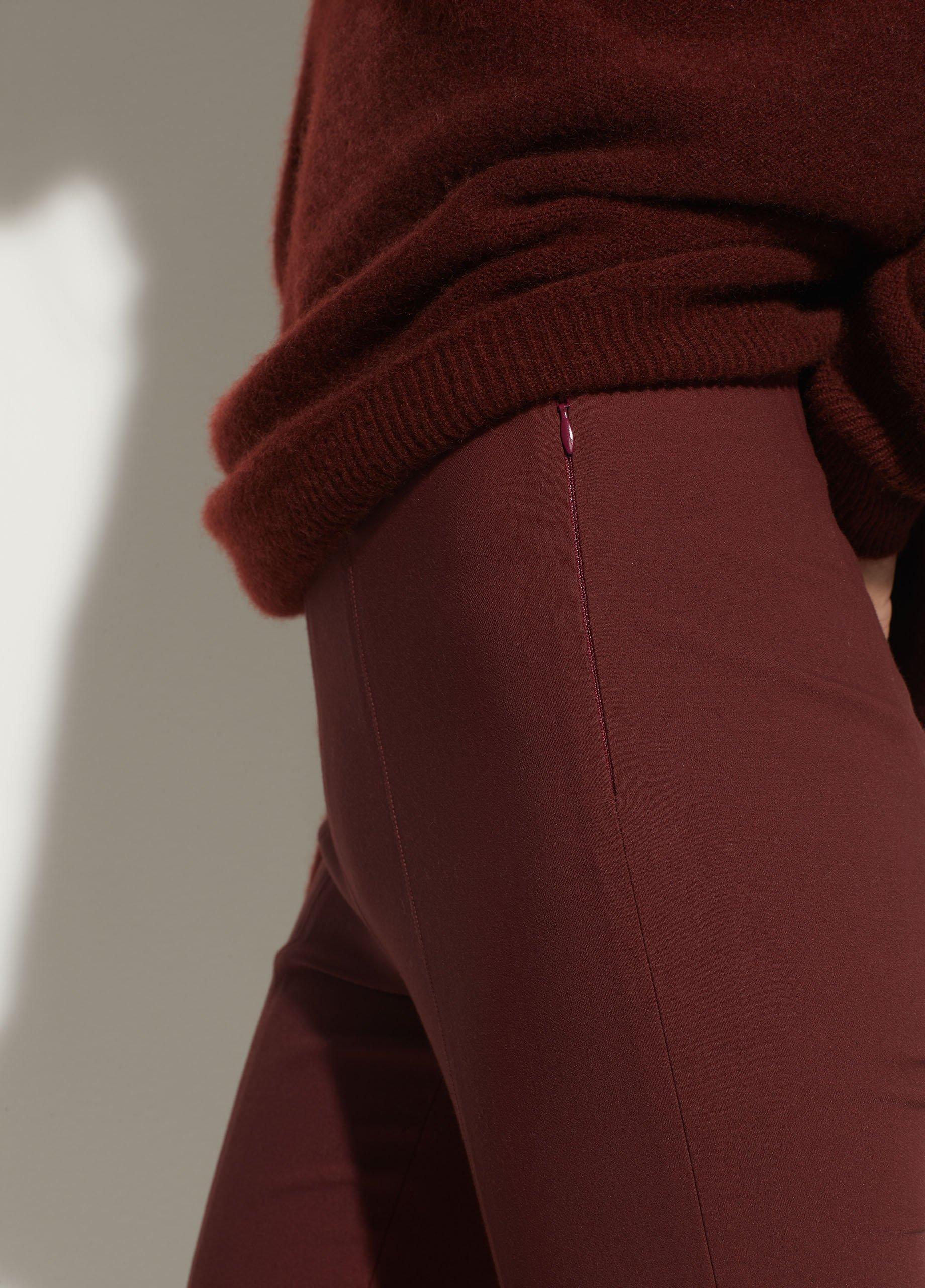 Stitch Front Seam Ponte Legging