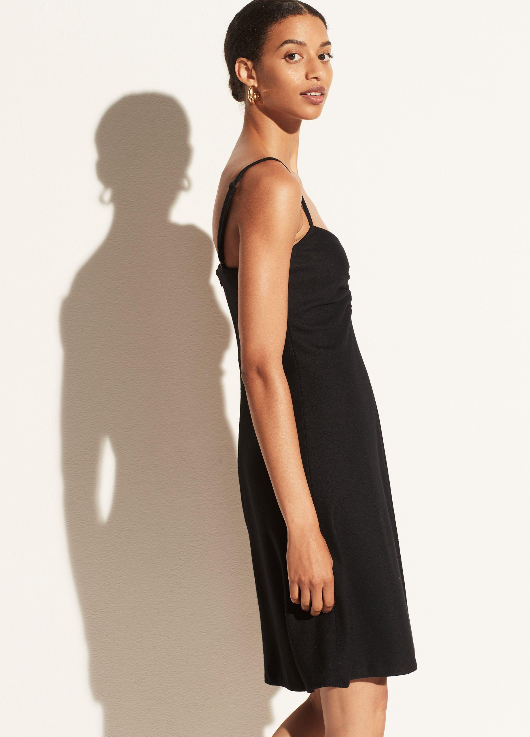 Cozy Ruched Camisole Dress