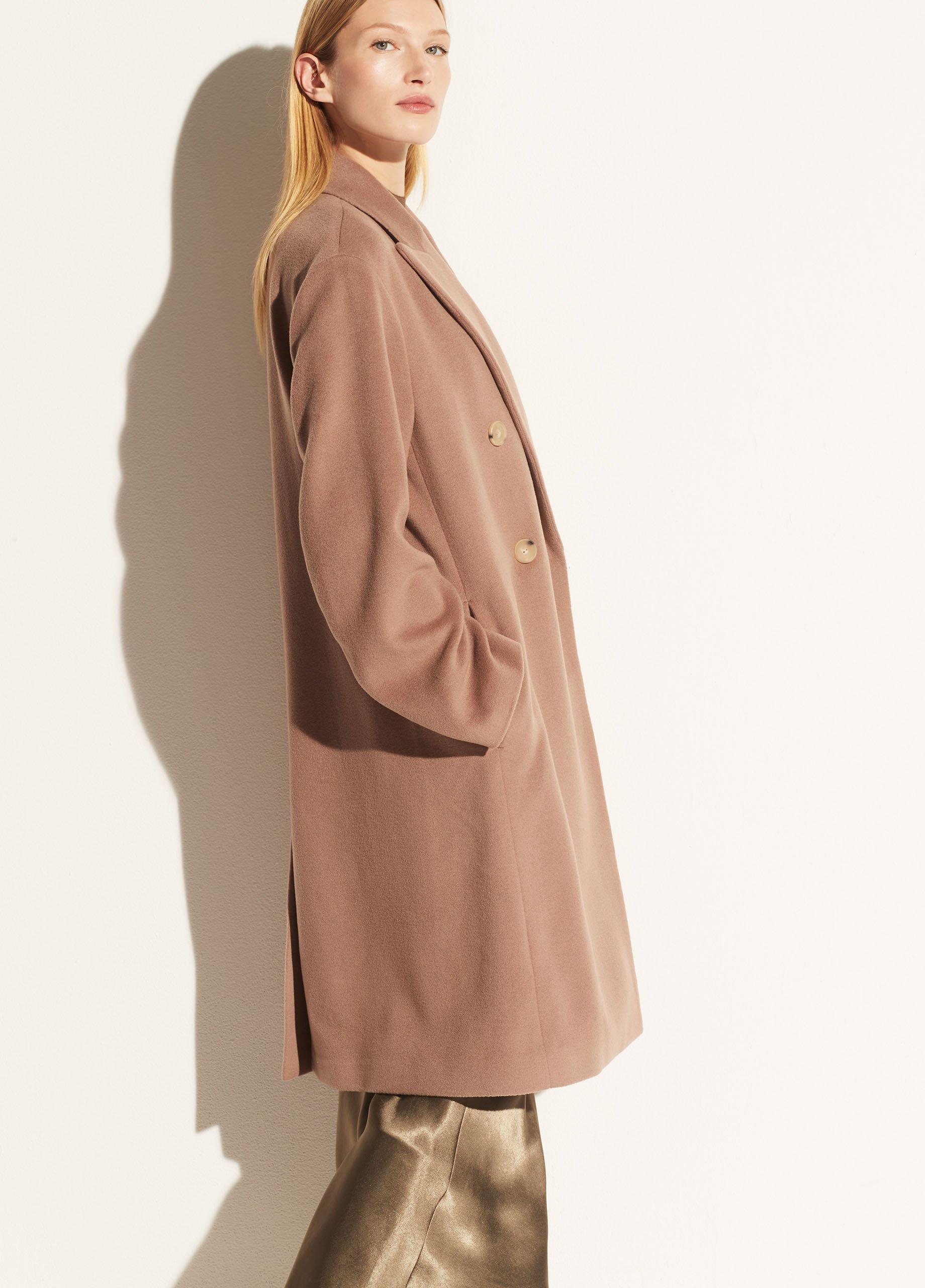Luxe Wool Car Coat