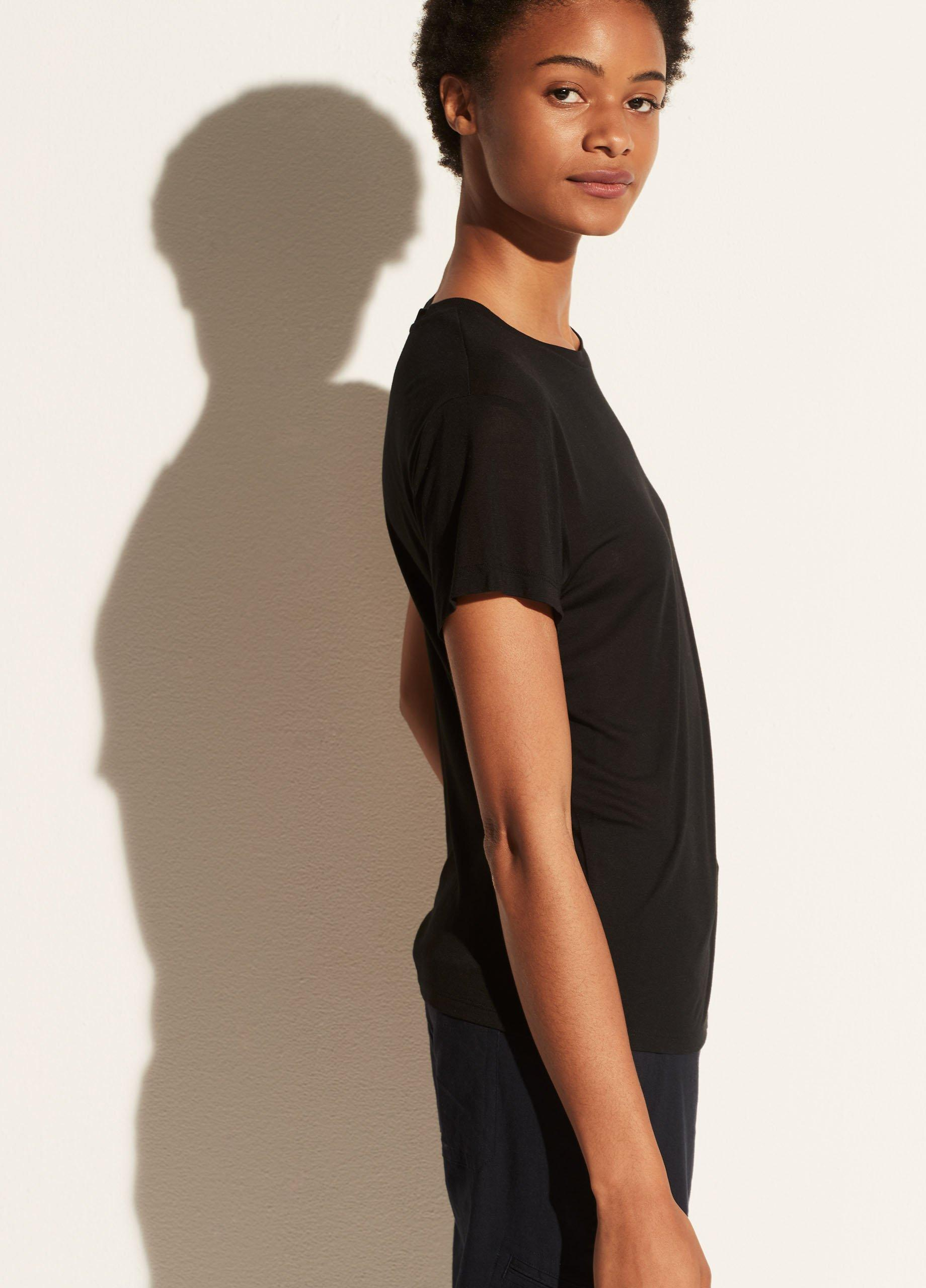 Short Sleeve Relaxed Crew