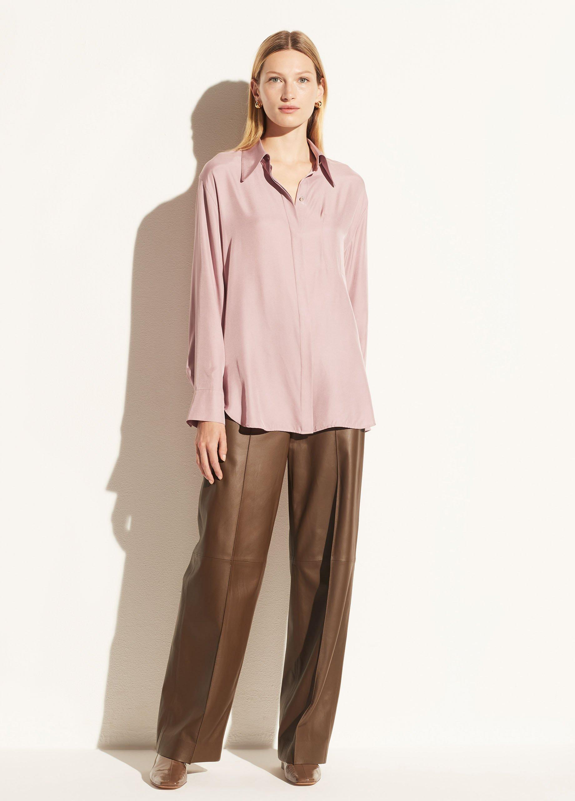Relaxed Long Sleeve Button Down