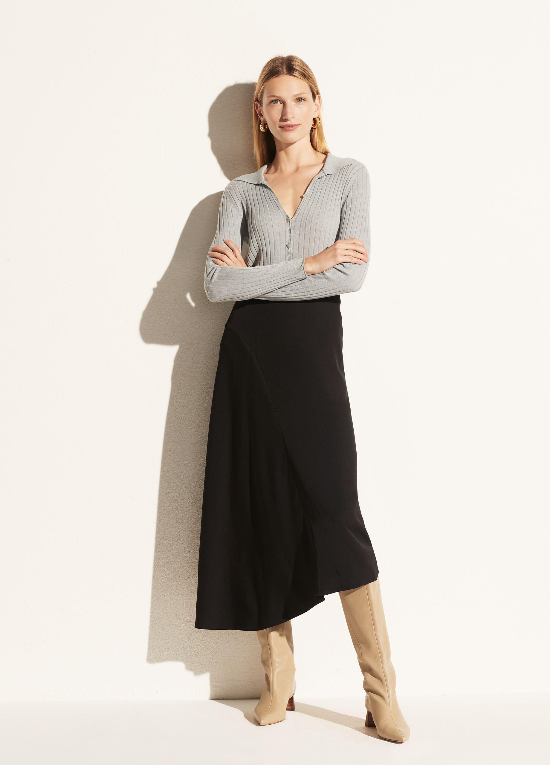 Asymmetric Seam Skirt