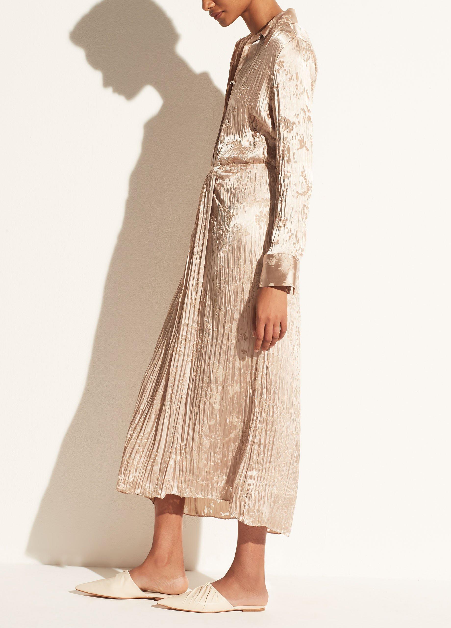 Burnout Asymmetric Drape Skirt