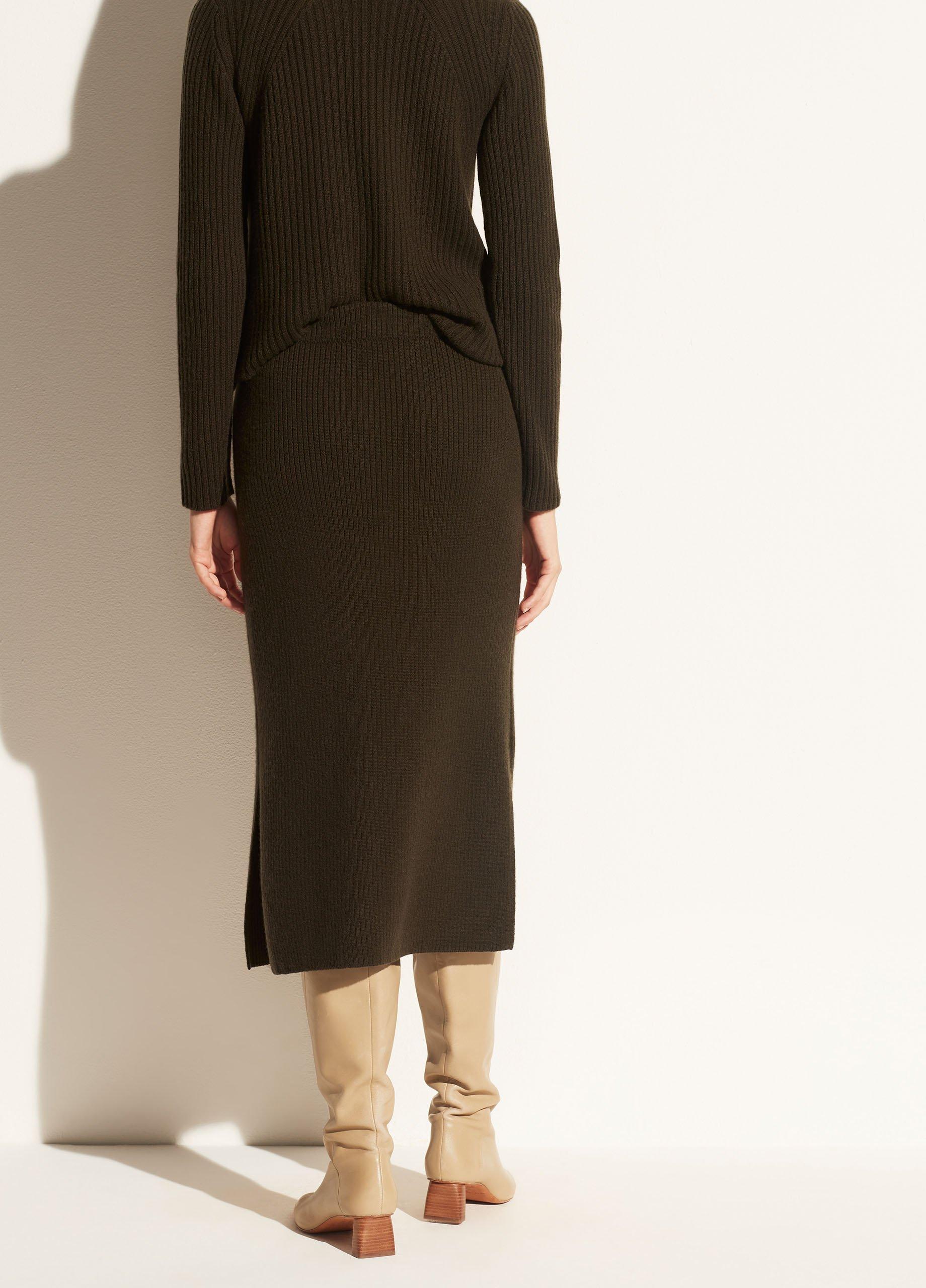 Ribbed Skirt