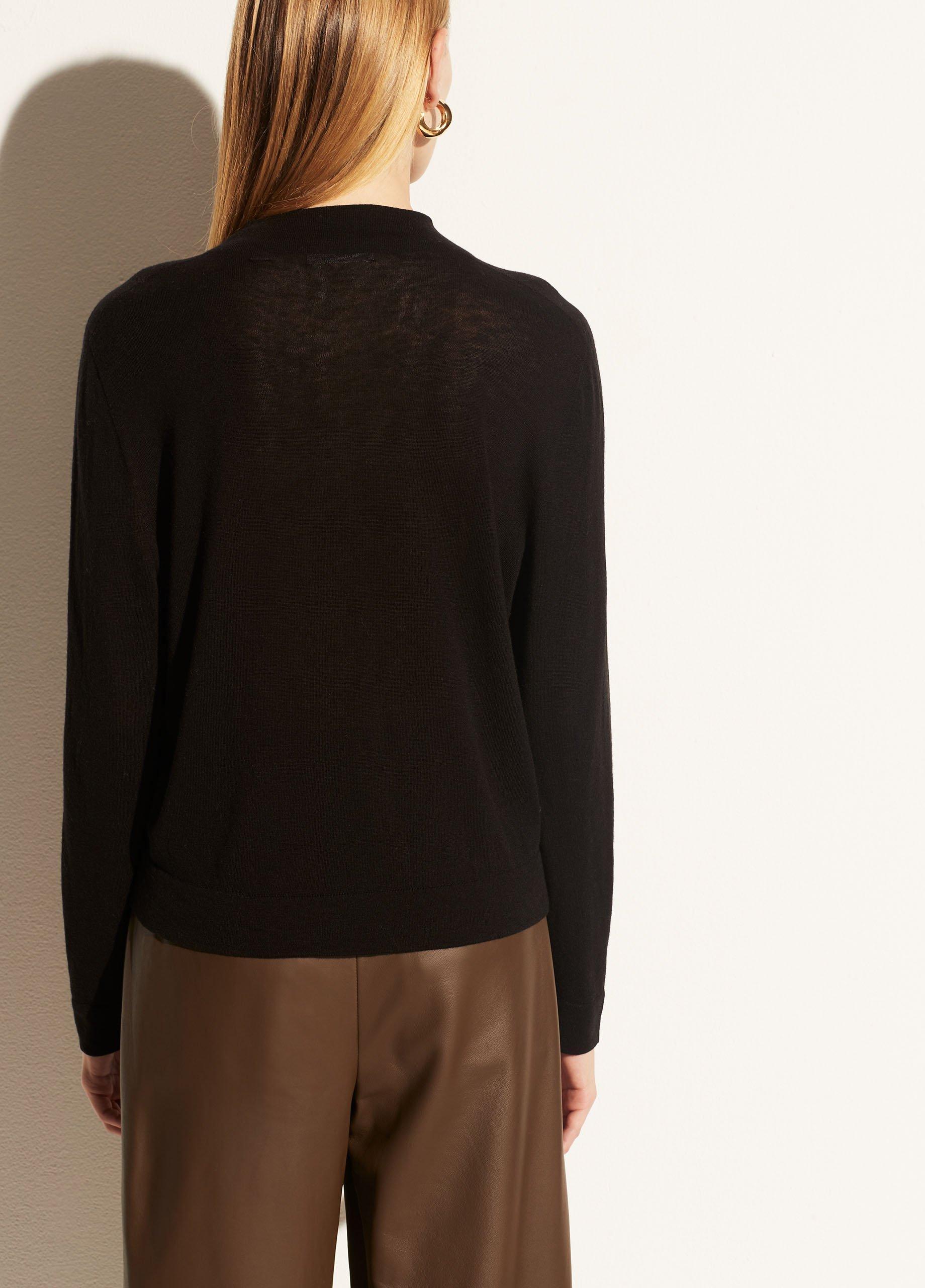 Seamless Mock Neck Pullover