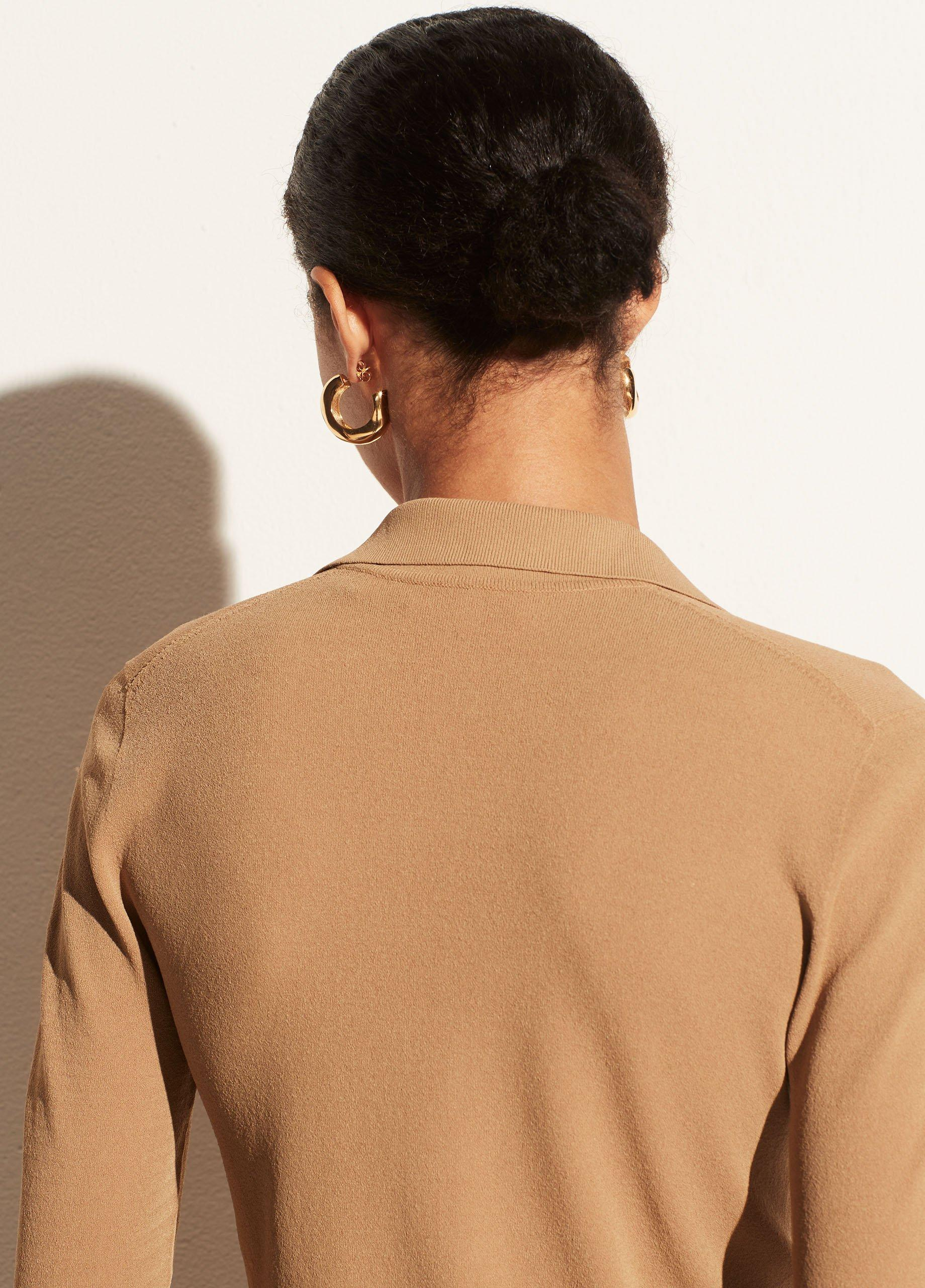 Seamless Buttoned Polo