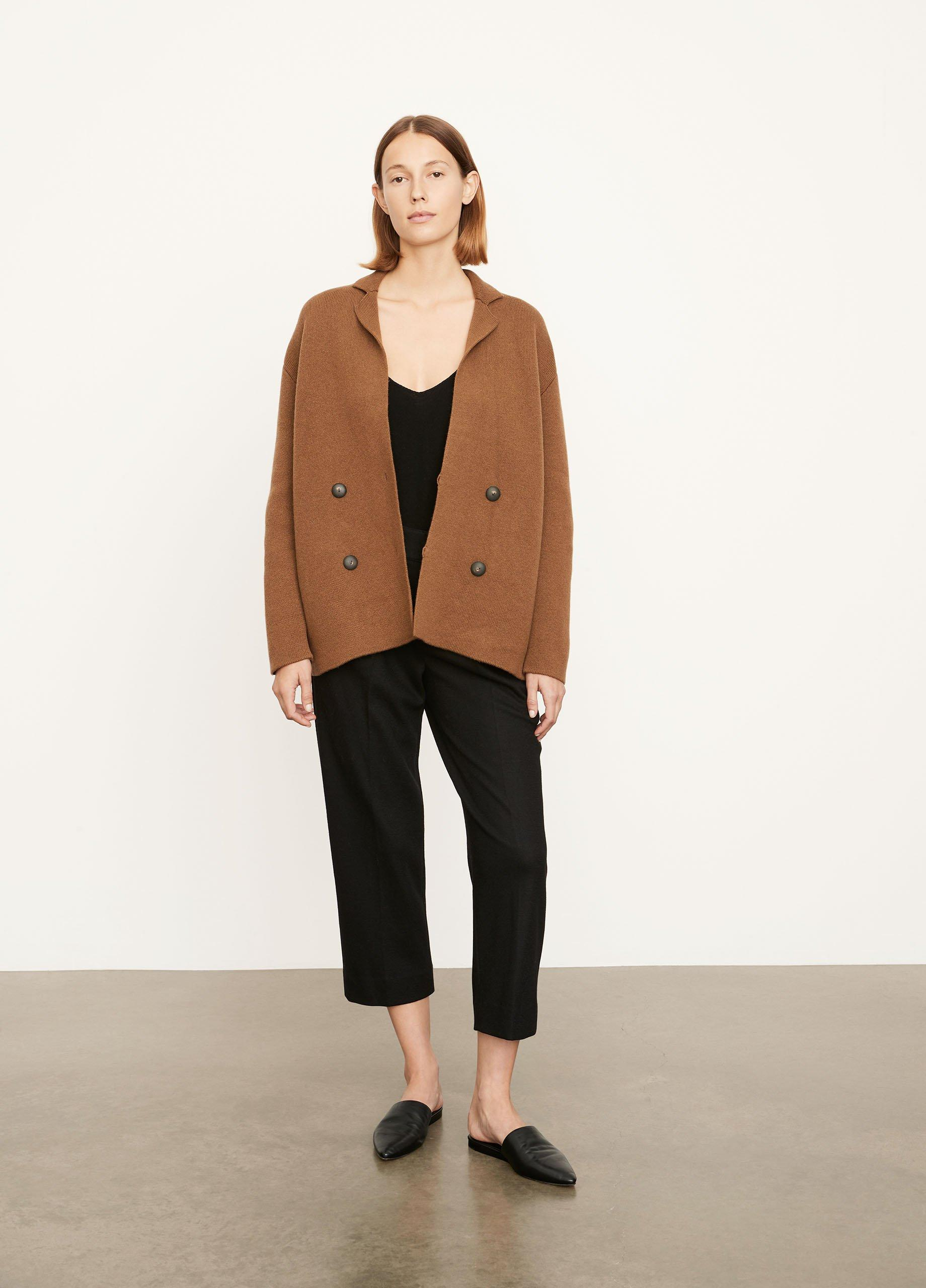 Double Breasted Cardigan Coat