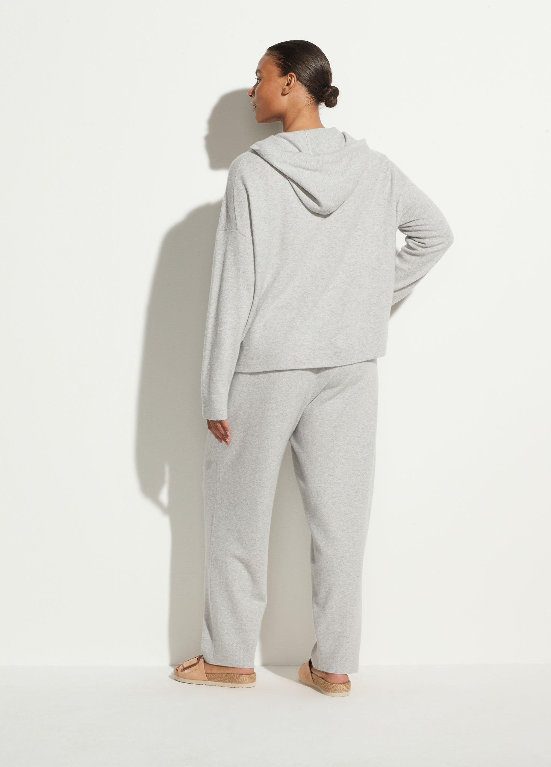 Wool Cashmere Zip Up Hoodie