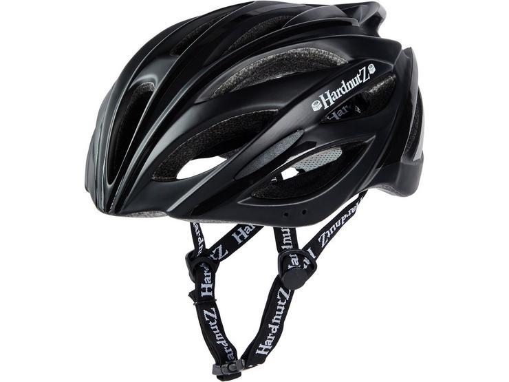 HardnutZ HiVis Helmet Matt Black (54-61cm)