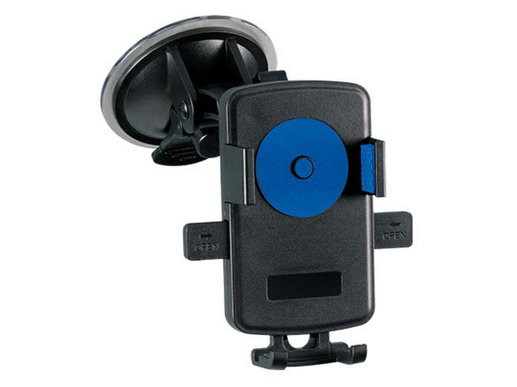 Halfords One Touch Universal Car Mount Holder - Blue