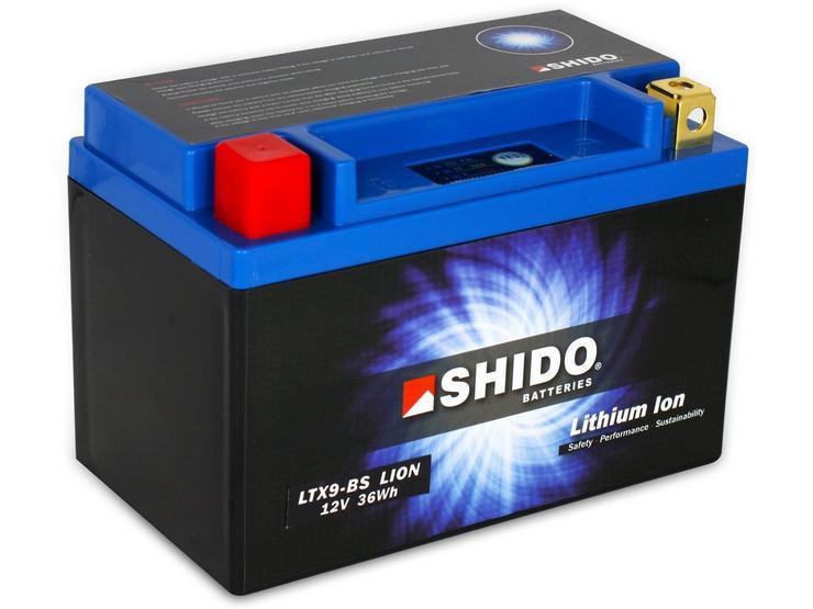 Shido Lithium Battery LTX9-BS