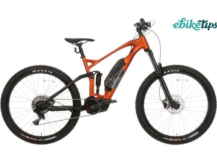 "Voodoo Zobop E-Shimano Full Suspension Electric Mountain Bike - 16"", 18"", 20"" Frames"