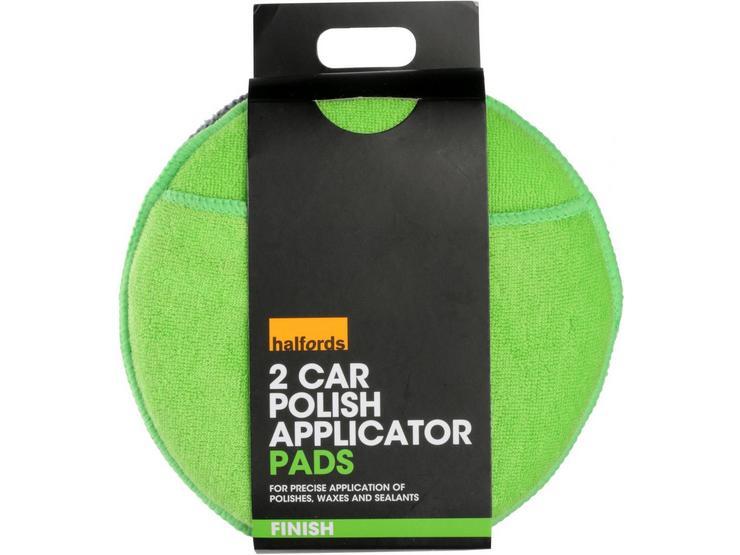 Halfords Car Polish Applicator Pads (Pack of 2)