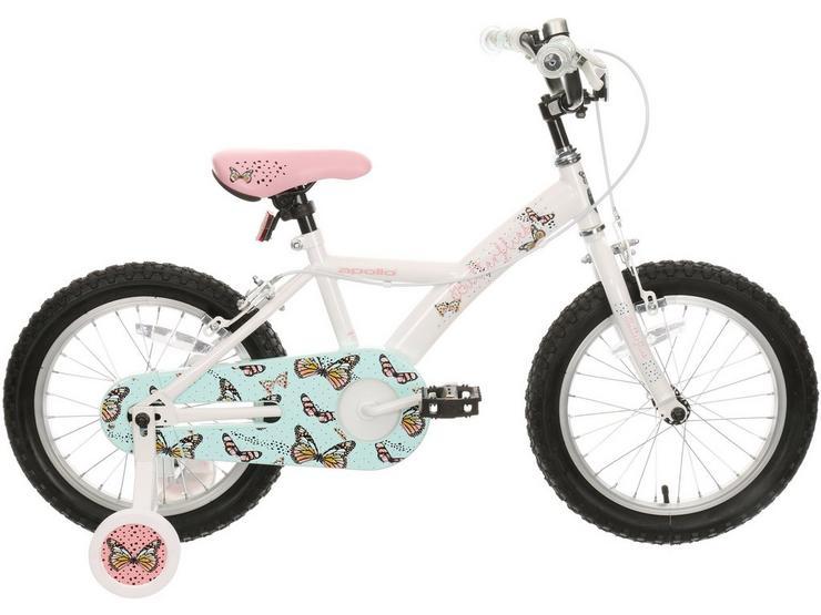 """Apollo Butterflies Kids Bike - 16"""" Wheel"""