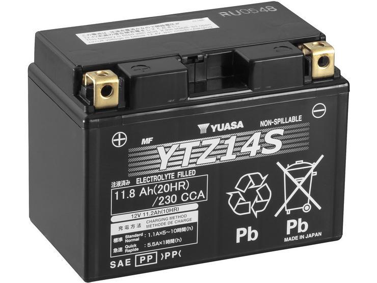 Yuasa YTZ14S High Performance Powersport Motorcycle Battery
