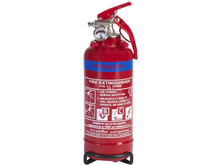 Fireblitz FBP800 800g BC Dry Powder Fire Extinguisher