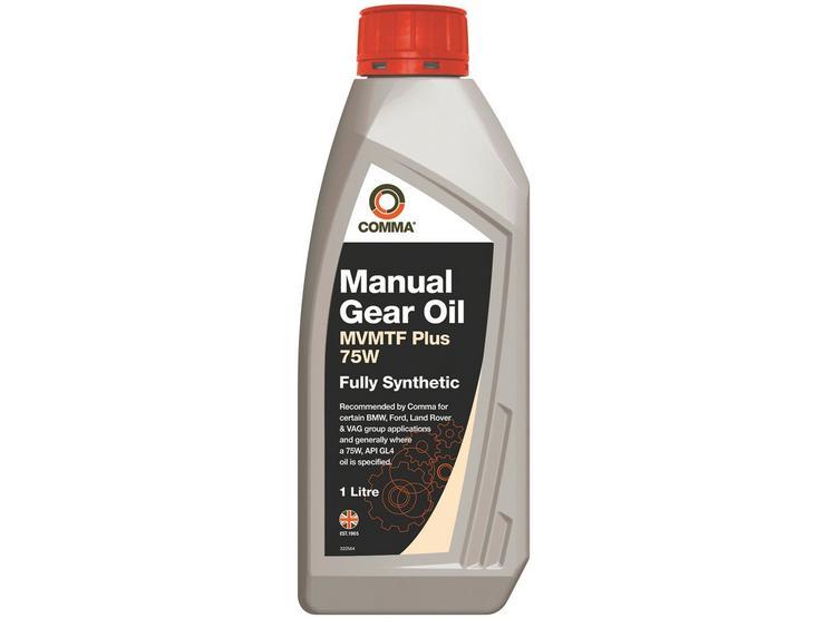 Comma MVMTF Plus 75W FS Manual Gear Oil 1L