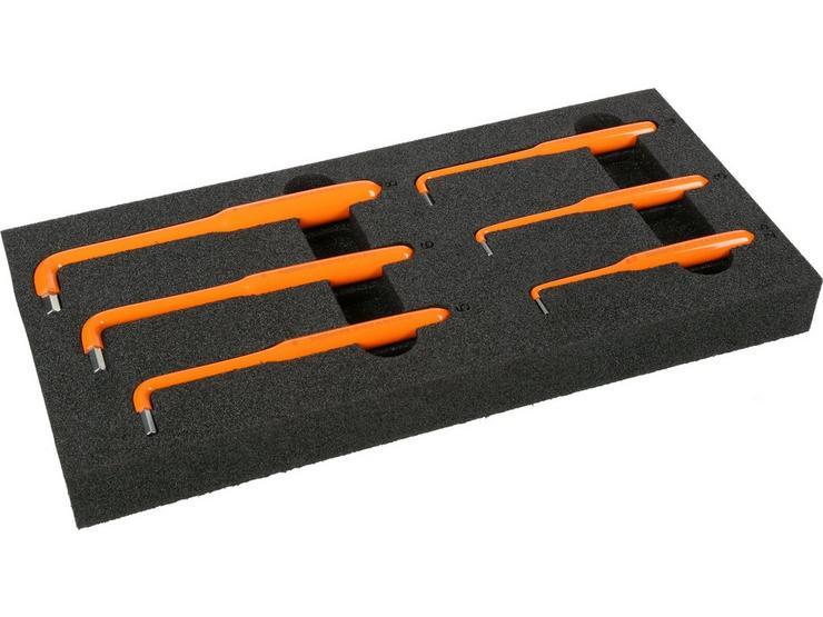 Halfords Advanced EV 1000V Insulated 6 Piece Hex Key Set 2.5-8mm