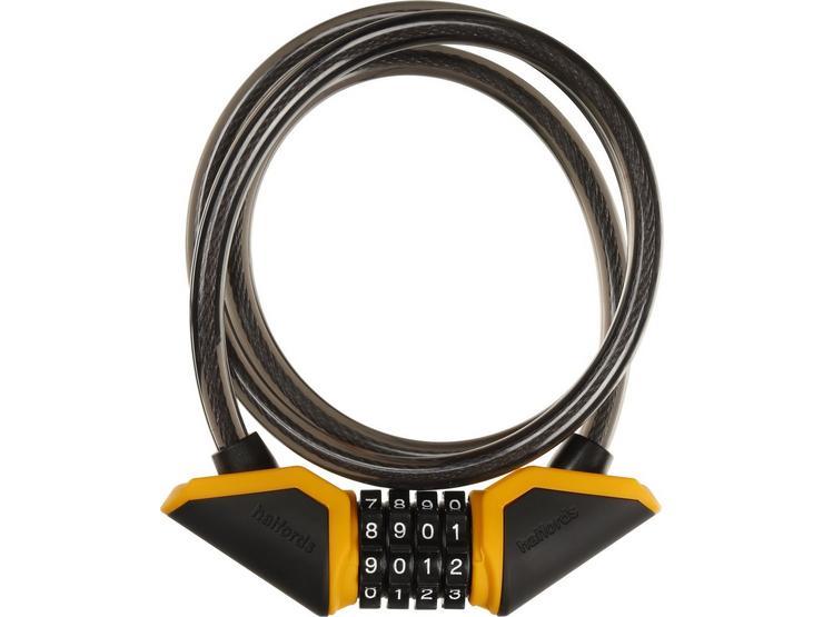 Halfords 120cm Cable Lock - Combination