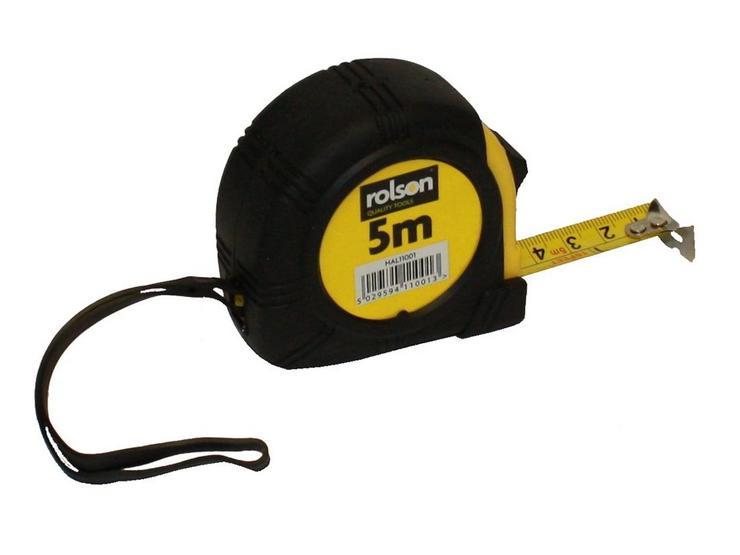Rolson 5 Metre Tape Measure