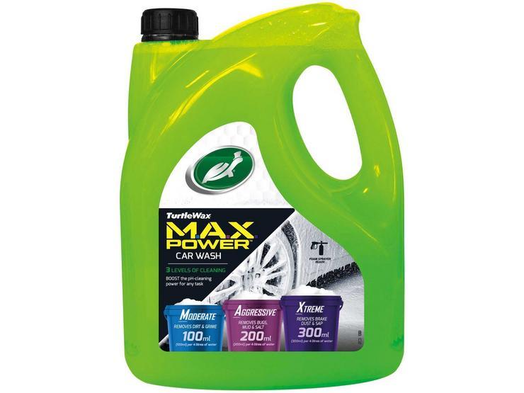 Turtle Wax MAX Power Car Wash 4L