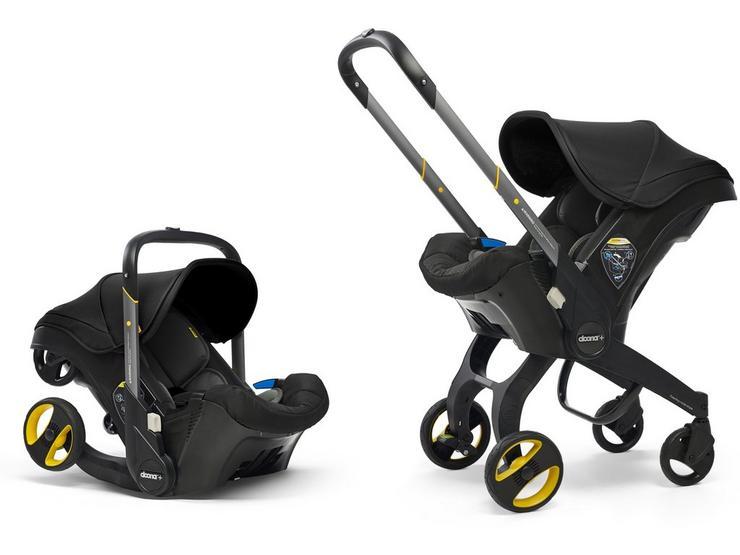 Doona+ Infant Car Seat and Stroller Travel System - Nitro Black