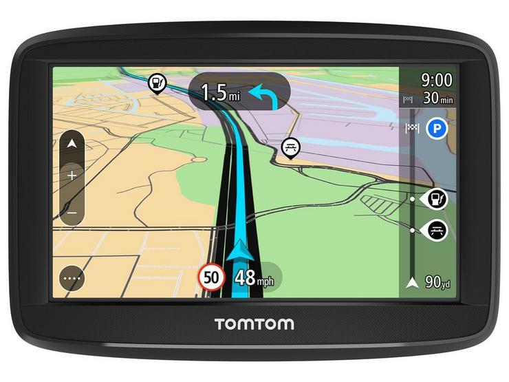 """TomTom Start 52 5"""" Sat Nav UK and ROI Lifetime Maps 248713"""