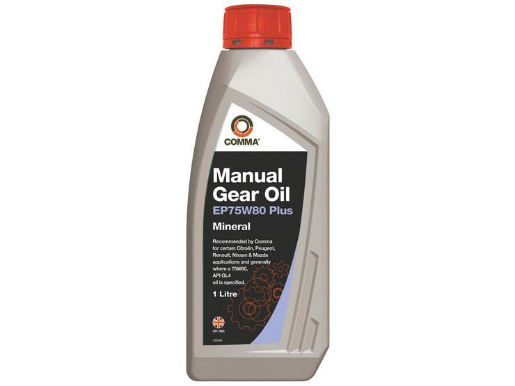 Comma Gear Oil EP75W80 Plus 1L