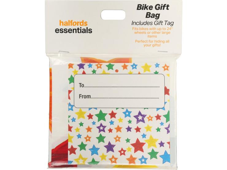 Halfords Essential Bike Gift Bag - Stars