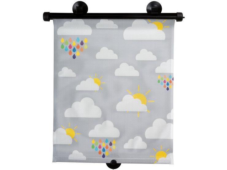 Halfords Roller Sunshades Cloud x2