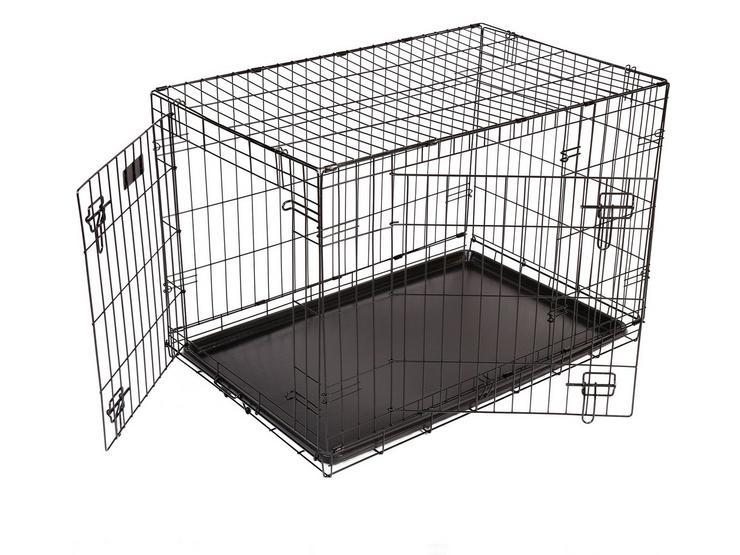 RAC Metal Fold Flat Crate Large