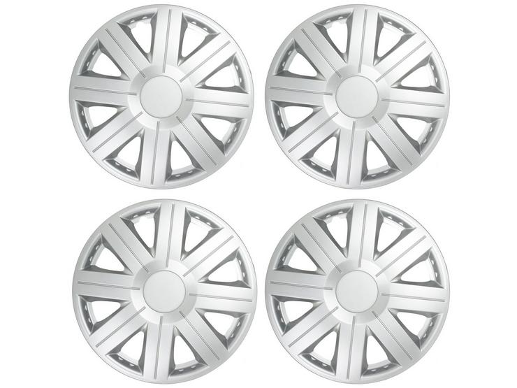 "Halfords Essentials 14"" Wheel Trim - Set of 4"