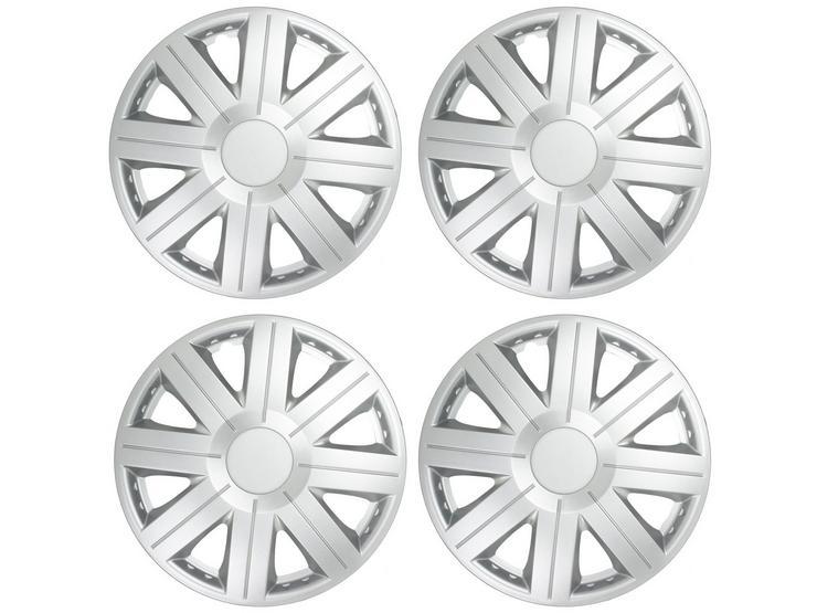 "Halfords Essentials 15"" Wheel Trim - Set of 4"