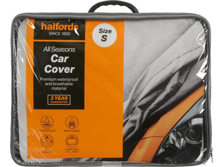 Halfords All Seasons Car Cover S