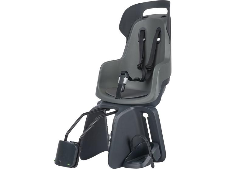 Bobike Go Child Bike Seat - Grey