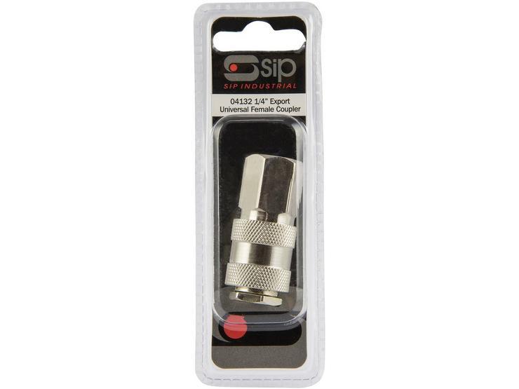 "SIP Universal Female Coupler - 1/4"" BSP"