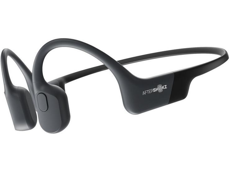 AfterShokz Aeropex Bluetooth Headphones - Cosmic Black
