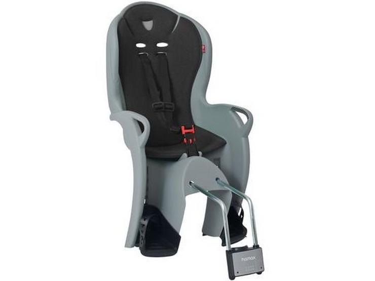 Hamax Kiss Rear Frame Seat - Black/Grey