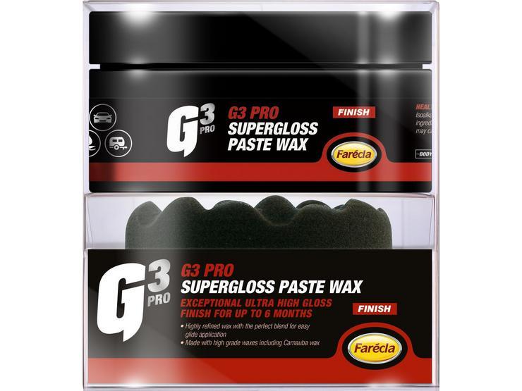 Farecla G3 Pro SuperGloss Paste Wax 200g