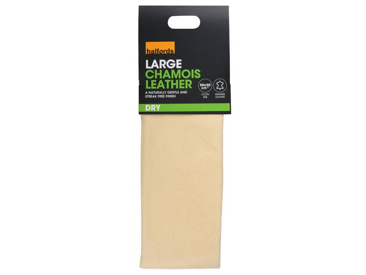 Halfords Leather Chamois (Large)