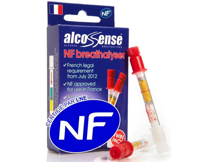 Alcosense Single Use NF Breathalyser Twin Pack