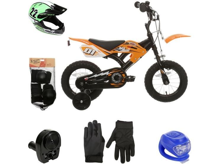 Motobike MX12 and your must have accessories