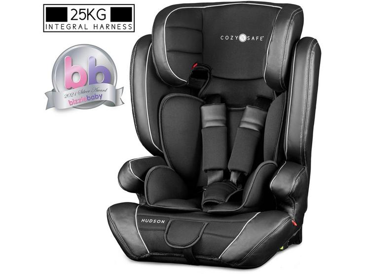 CozyNSafe Hudson (25KG Harness) Group 1/2/3 ISOFIX Car Seat – Black