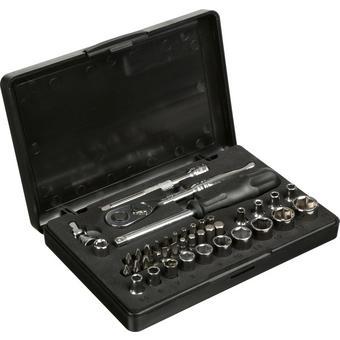 332374: Halfords Advanced 40 Piece 1/4 Socket Set